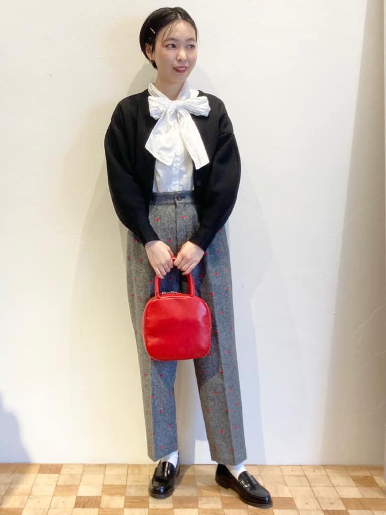Dot and Stripes CHILD WOMAN 名古屋栄路面 身長:161cm 2021.09.23