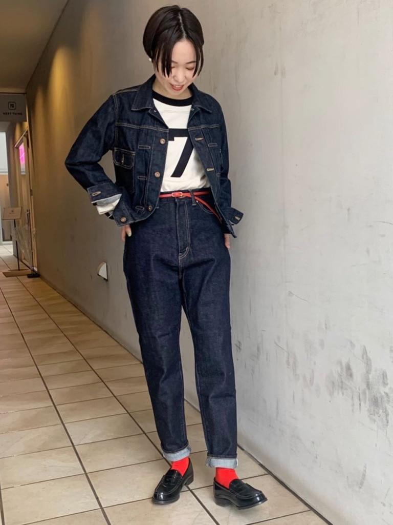 Dot and Stripes CHILD WOMAN 名古屋栄路面 身長:160cm 2021.02.12