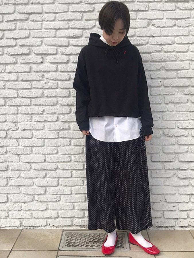 Dot and Stripes CHILD WOMAN 名古屋栄路面 身長:160cm 2020.04.08
