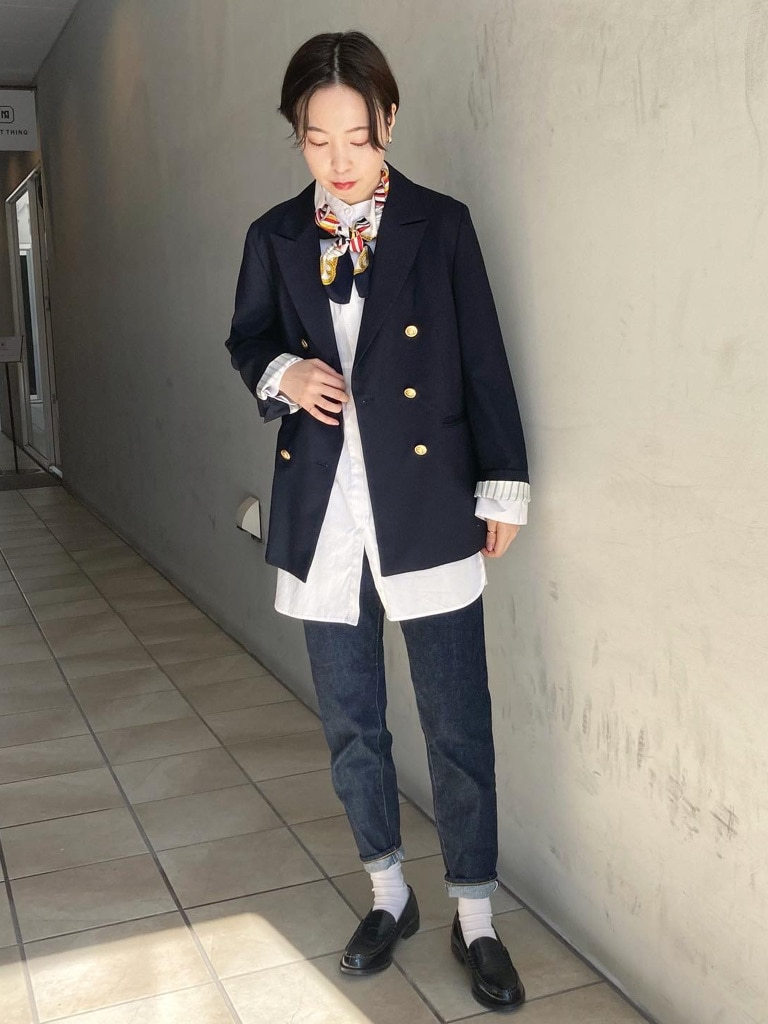 Dot and Stripes CHILD WOMAN 名古屋栄路面 身長:160cm 2021.02.04