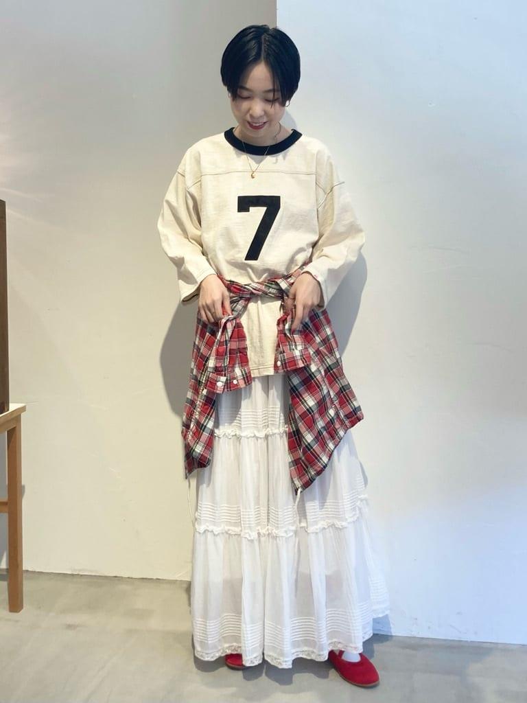 Dot and Stripes CHILD WOMAN 名古屋栄路面 身長:161cm 2021.09.10