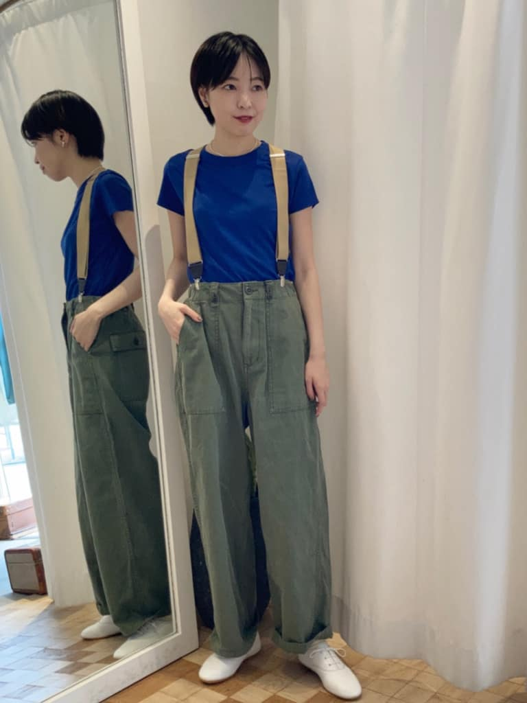 Dot and Stripes CHILD WOMAN 名古屋栄路面 身長:161cm 2021.07.22