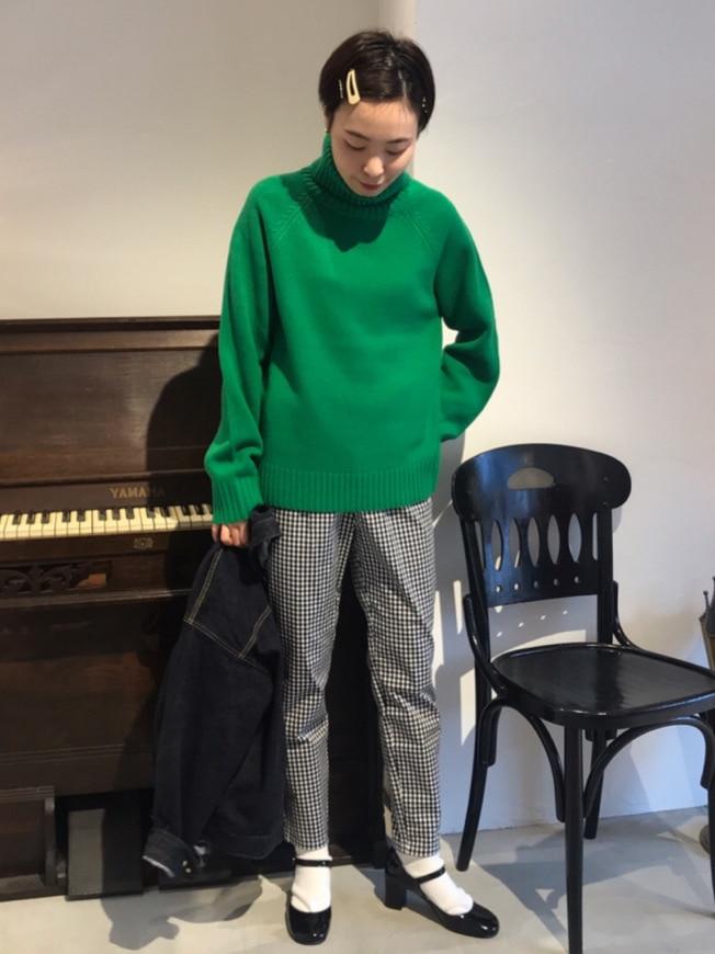 Dot and Stripes CHILD WOMAN 名古屋栄路面 身長:160cm 2020.11.04