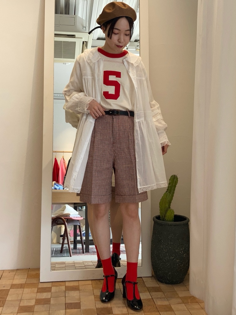 Dot and Stripes CHILD WOMAN 名古屋栄路面 身長:160cm 2021.03.21