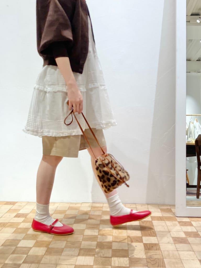 Dot and Stripes CHILD WOMAN 名古屋栄路面 身長:161cm 2021.09.15