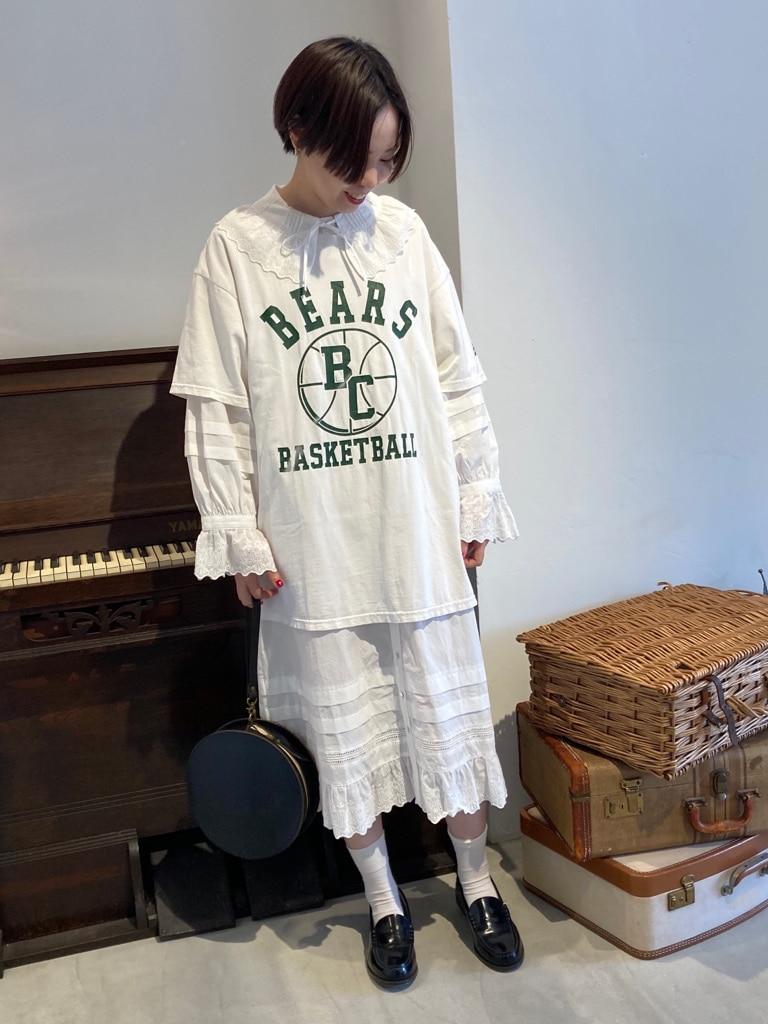 Dot and Stripes CHILD WOMAN 名古屋栄路面 身長:160cm 2020.08.31