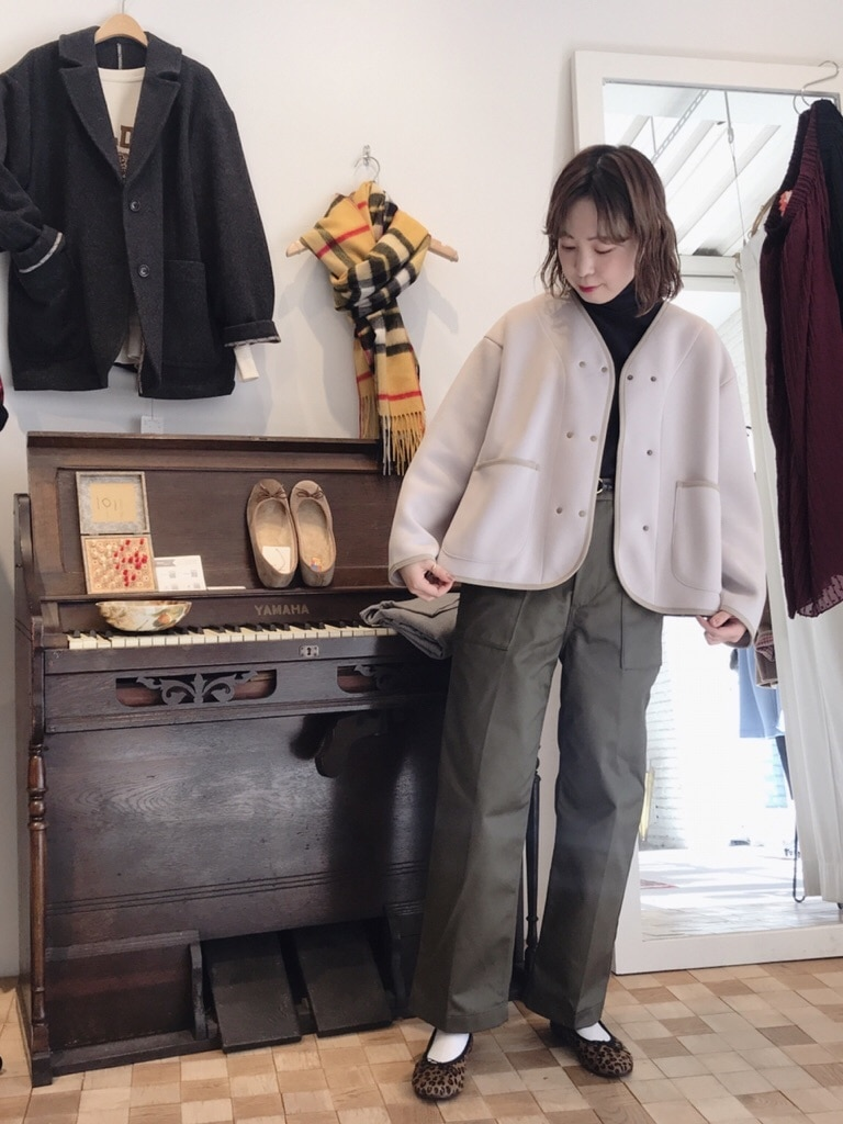 Dot and Stripes CHILD WOMAN 名古屋栄路面 身長:160cm 2019.12.05