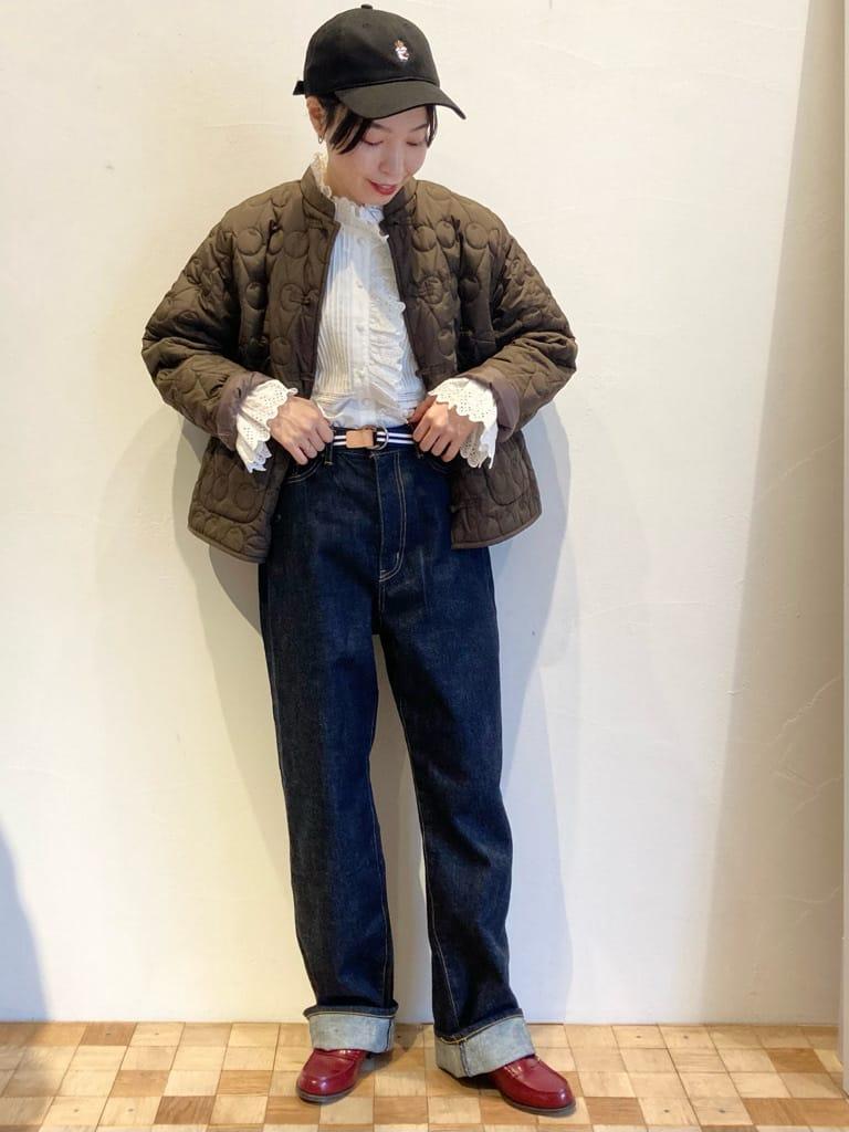 Dot and Stripes CHILD WOMAN 名古屋栄路面 身長:161cm 2021.10.01