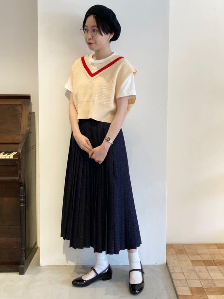 Dot and Stripes CHILD WOMAN 名古屋栄路面 身長:161cm 2021.08.31
