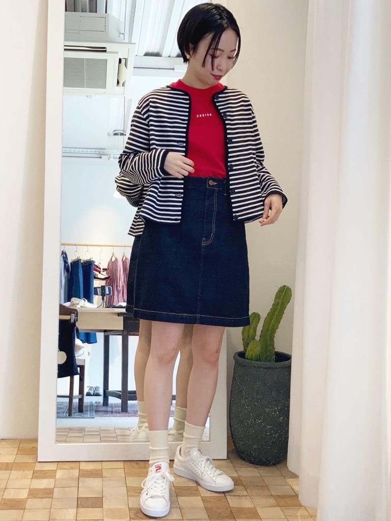 Dot and Stripes CHILD WOMAN 名古屋栄路面 身長:160cm 2021.04.21