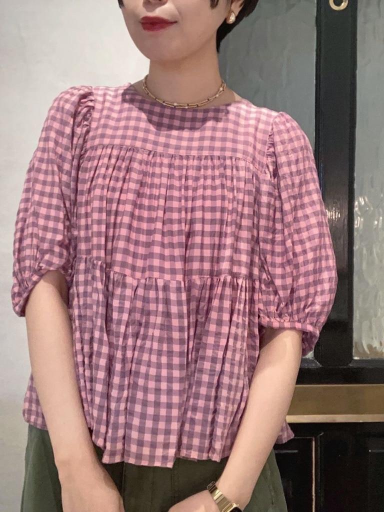 Dot and Stripes CHILD WOMAN 名古屋栄路面 身長:160cm 2021.04.20
