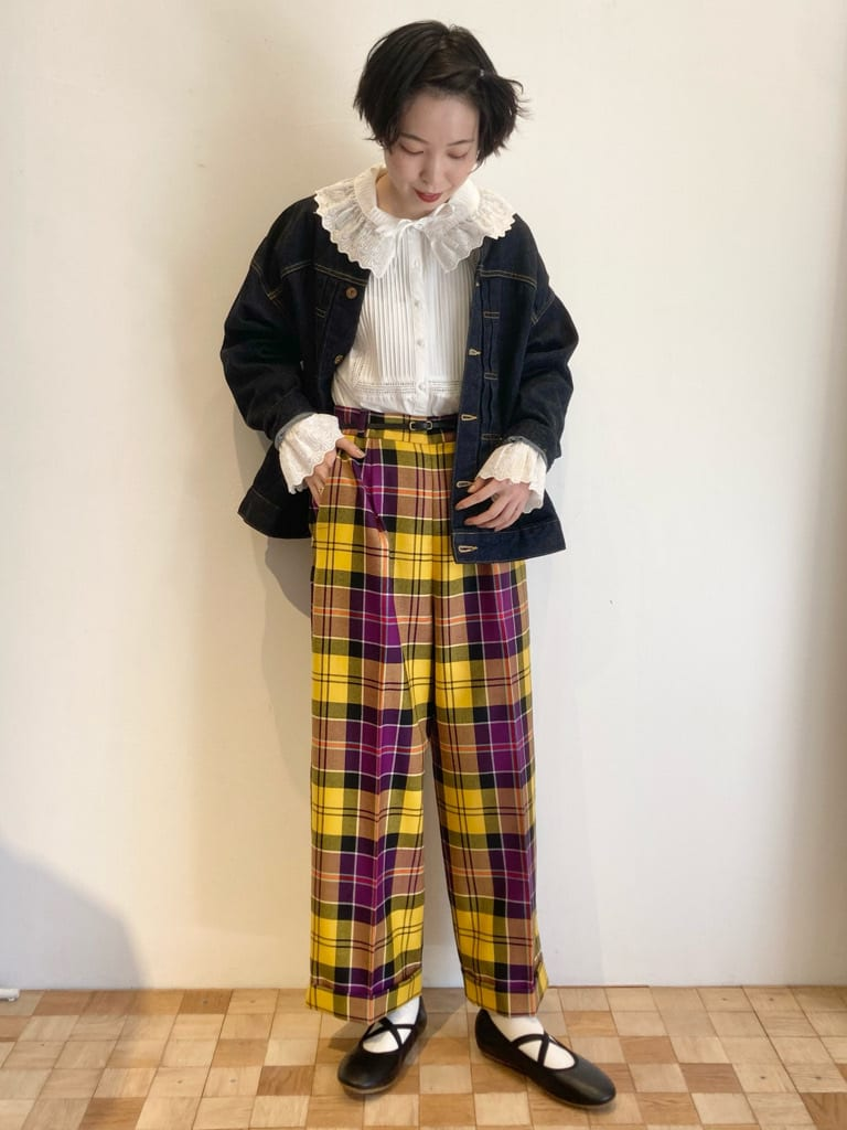 Dot and Stripes CHILD WOMAN 名古屋栄路面 身長:161cm 2021.10.06