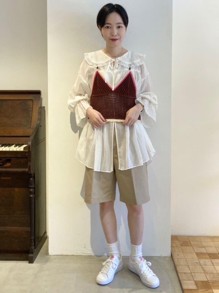 Dot and Stripes CHILD WOMAN 名古屋栄路面 身長:161cm 2021.08.12