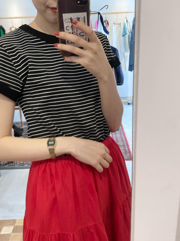 Dot and Stripes CHILD WOMAN 名古屋栄路面 身長:161cm 2021.07.31