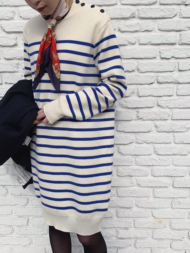 Dot and Stripes CHILD WOMAN 名古屋栄路面 身長:160cm 2020.11.26