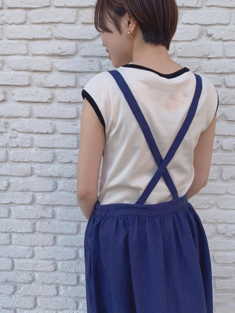 Dot and Stripes CHILD WOMAN 名古屋栄路面 身長:160cm 2020.05.11