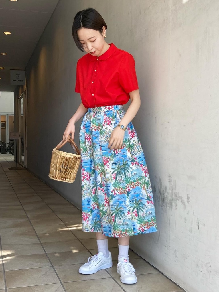 Dot and Stripes CHILD WOMAN 名古屋栄路面 身長:160cm 2021.04.20