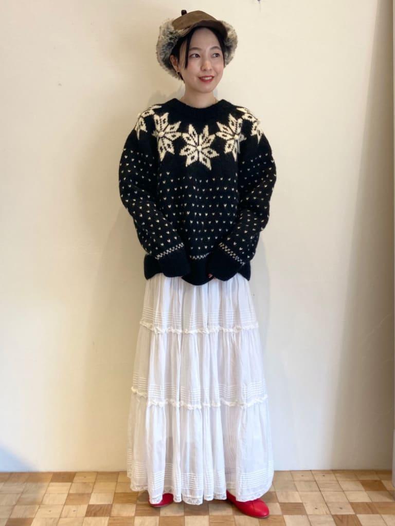 Dot and Stripes CHILD WOMAN 名古屋栄路面 身長:161cm 2021.09.29