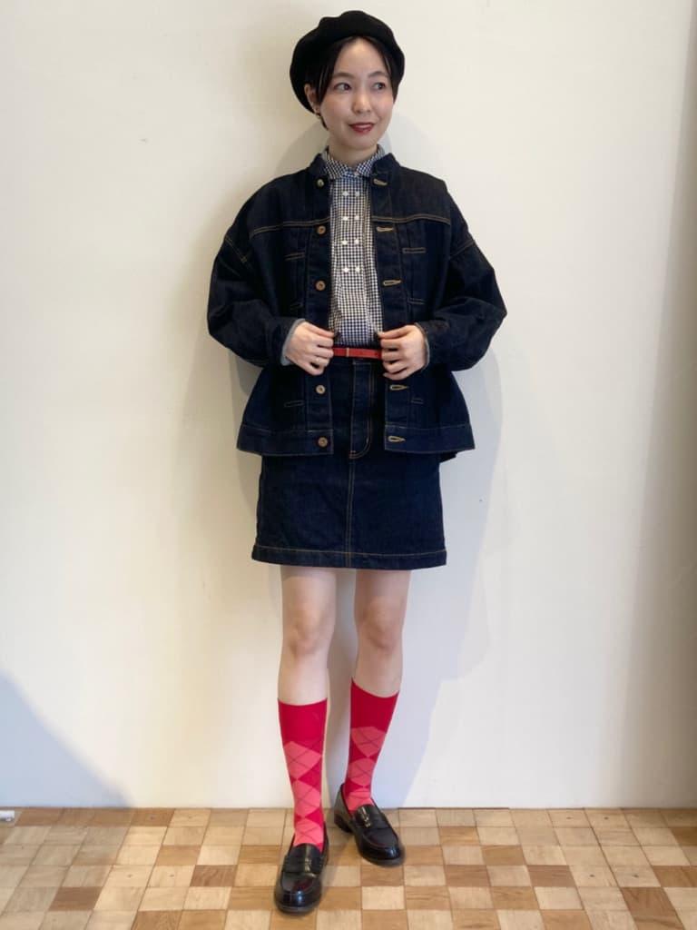 Dot and Stripes CHILD WOMAN 名古屋栄路面 身長:161cm 2021.10.05