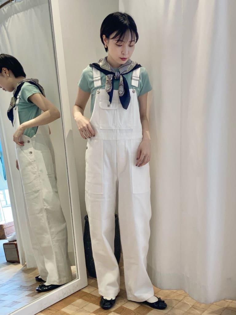 Dot and Stripes CHILD WOMAN 名古屋栄路面 身長:161cm 2021.07.27