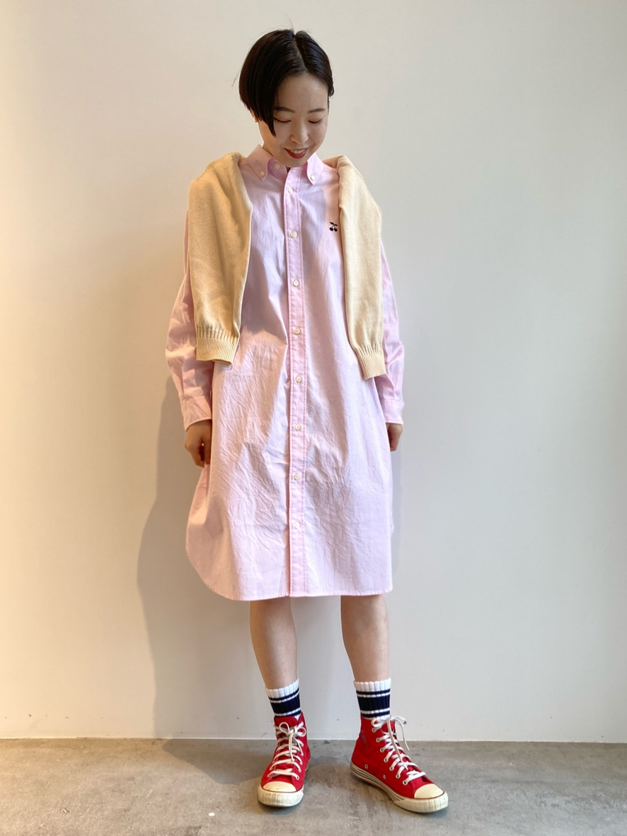Dot and Stripes CHILD WOMAN 名古屋栄路面 身長:160cm 2021.02.08