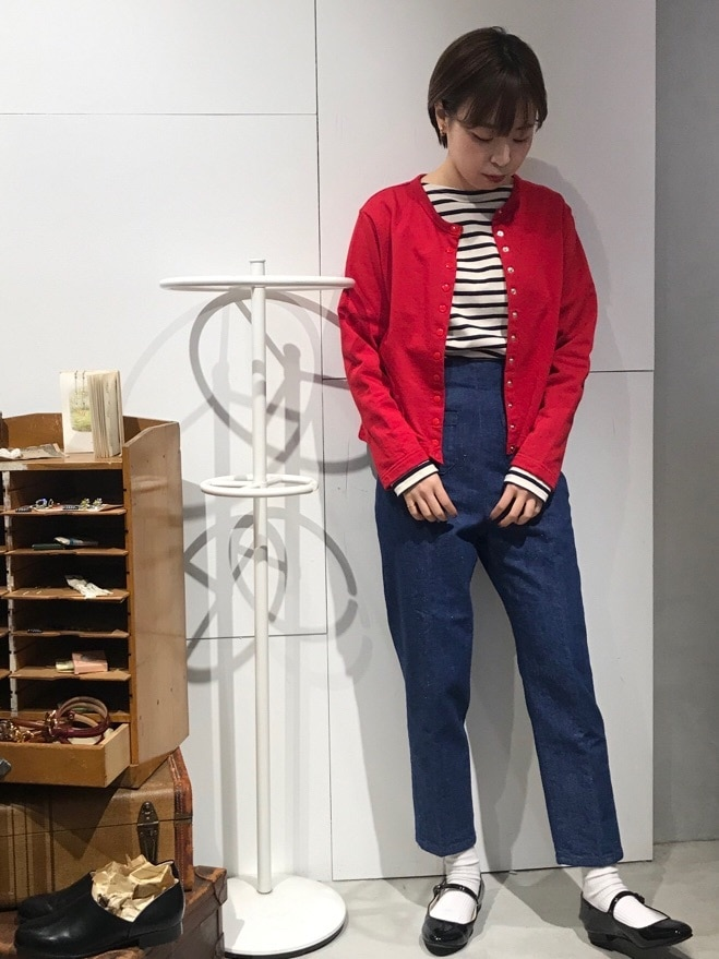 Dot and Stripes CHILD WOMAN 名古屋栄路面 身長:160cm 2020.02.14