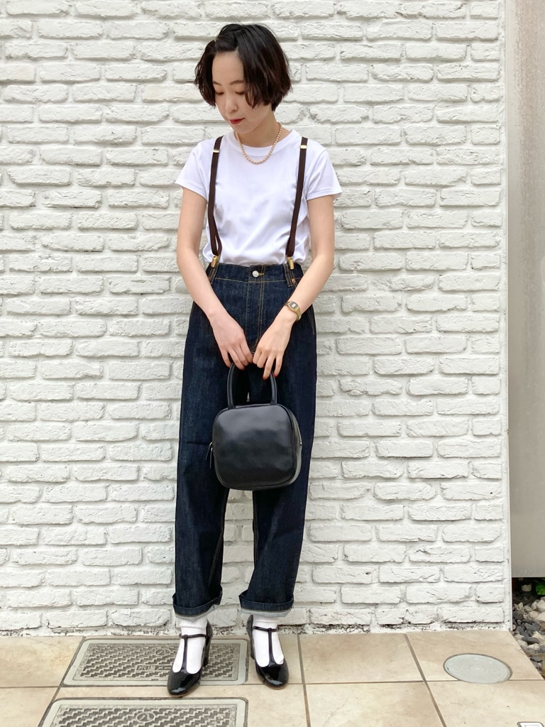 【 NEW 】Dot and Stripes CHILD WOMAN 名古屋栄路面 身長:160cm 2021.05.14