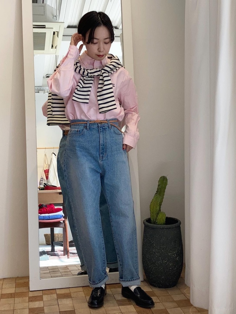 Dot and Stripes CHILD WOMAN 名古屋栄路面 身長:160cm 2021.02.18