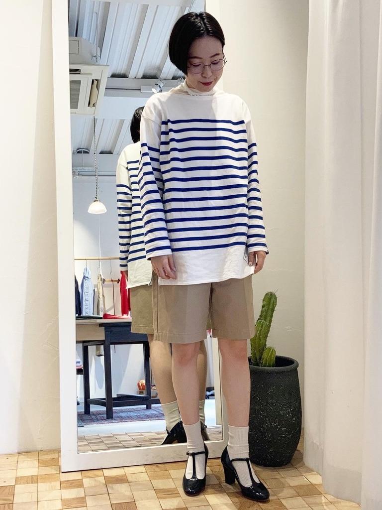 Dot and Stripes CHILD WOMAN 名古屋栄路面 身長:160cm 2021.02.19