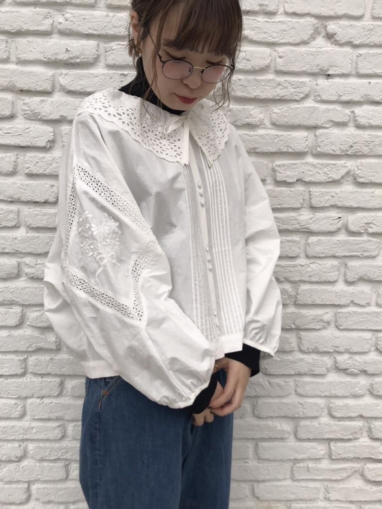 Dot and Stripes CHILD WOMAN 名古屋栄路面 身長:160cm 2019.10.29