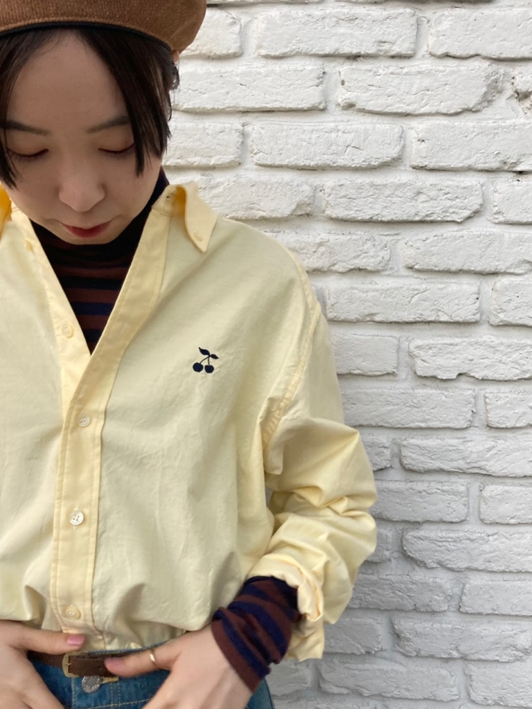 Dot and Stripes CHILD WOMAN 名古屋栄路面 身長:160cm 2021.01.21