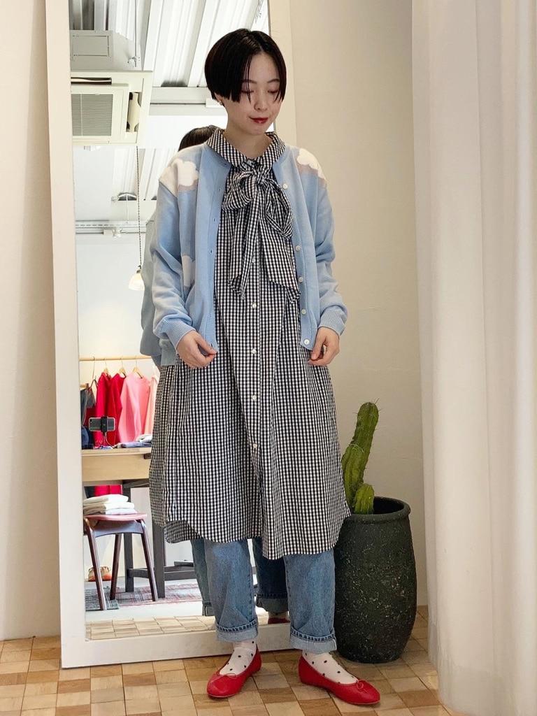 Dot and Stripes CHILD WOMAN 名古屋栄路面 身長:160cm 2021.03.15