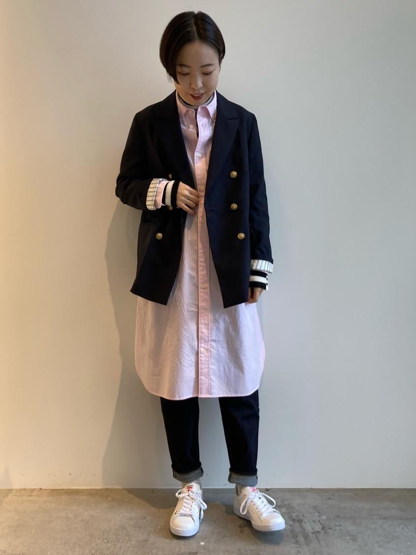 Dot and Stripes CHILD WOMAN 名古屋栄路面 身長:160cm 2021.02.09