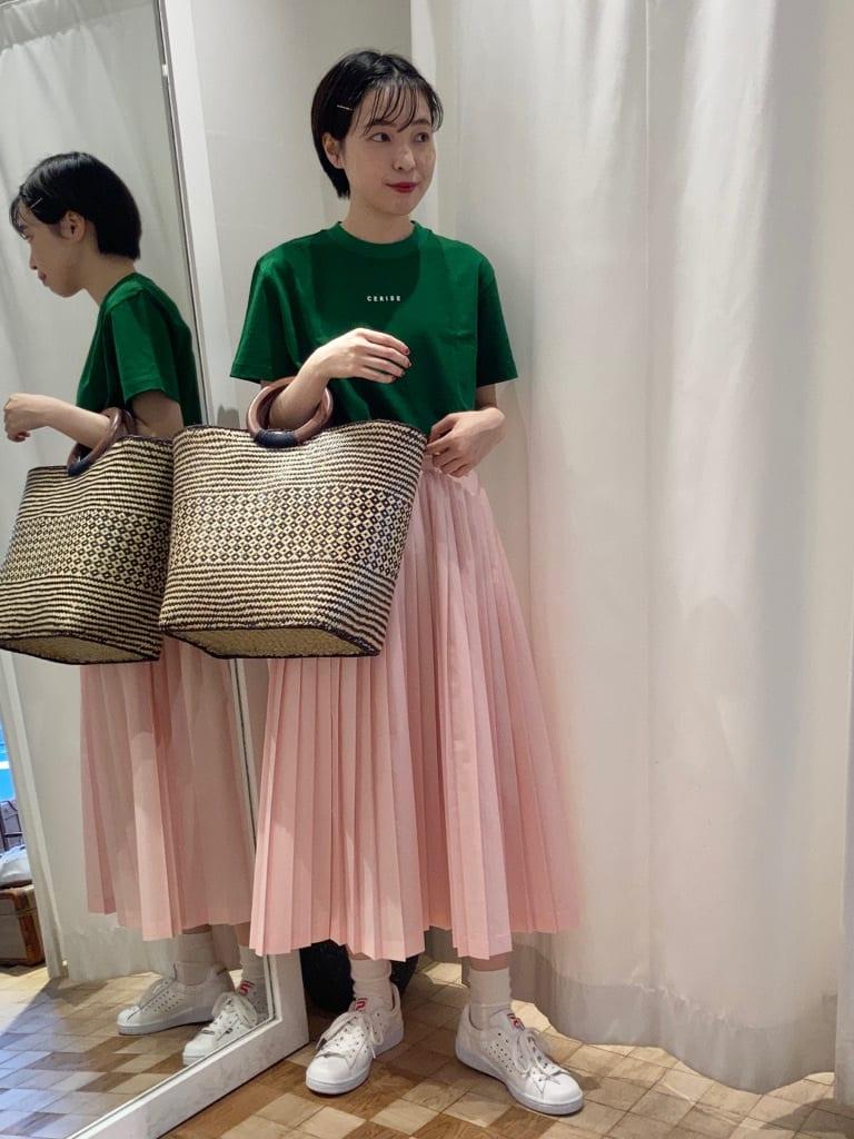 Dot and Stripes CHILD WOMAN 名古屋栄路面 身長:161cm 2021.07.06