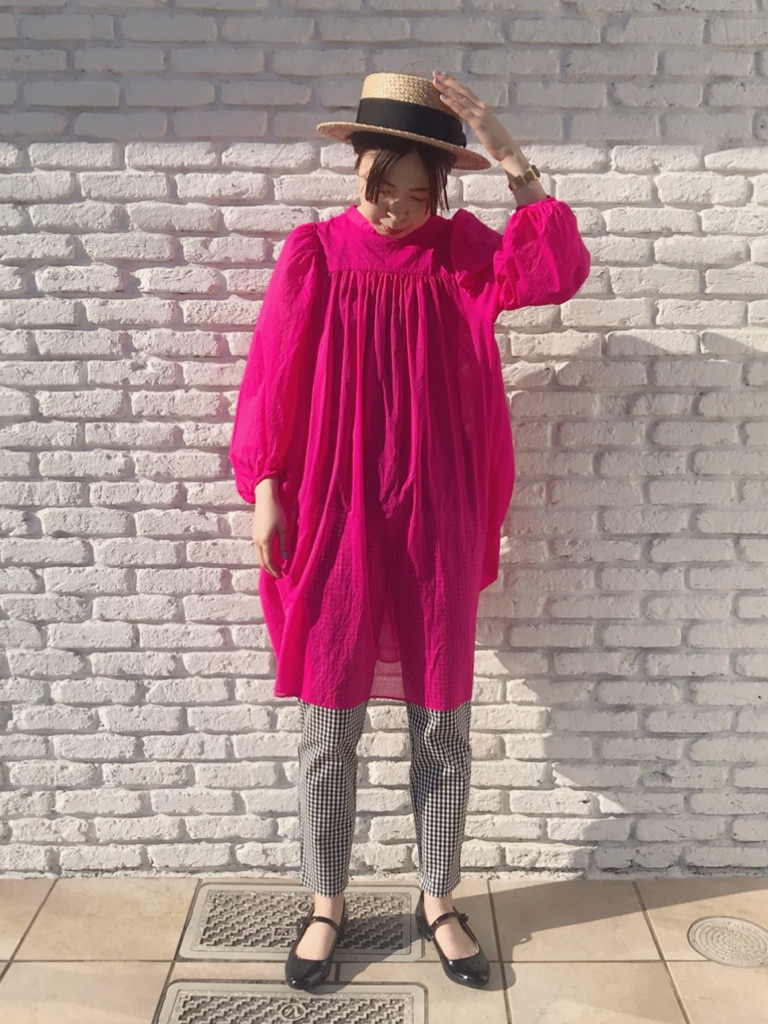 Dot and Stripes CHILD WOMAN 名古屋栄路面 身長:160cm 2020.04.20