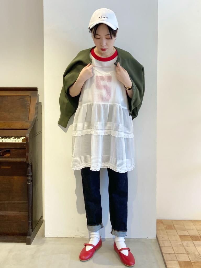 Dot and Stripes CHILD WOMAN 名古屋栄路面 身長:161cm 2021.08.14