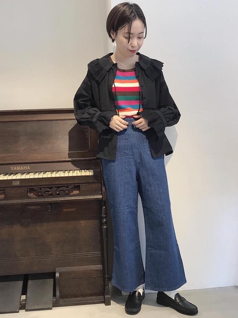 Dot and Stripes CHILD WOMAN 名古屋栄路面 身長:160cm 2020.09.04