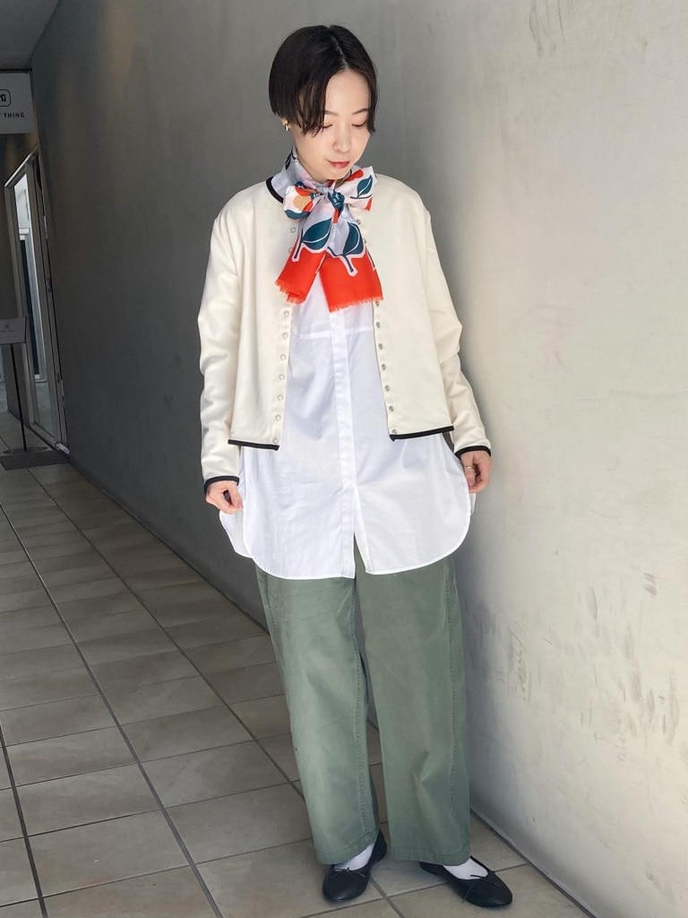 Dot and Stripes CHILD WOMAN 名古屋栄路面 身長:160cm 2021.02.05
