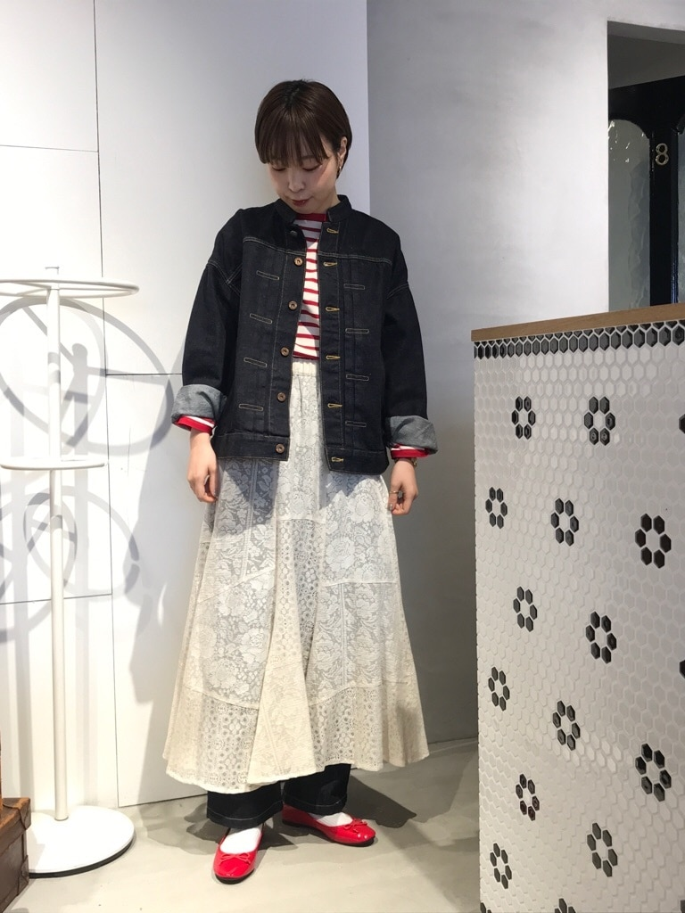 Dot and Stripes CHILD WOMAN 名古屋栄路面 身長:160cm 2020.01.31