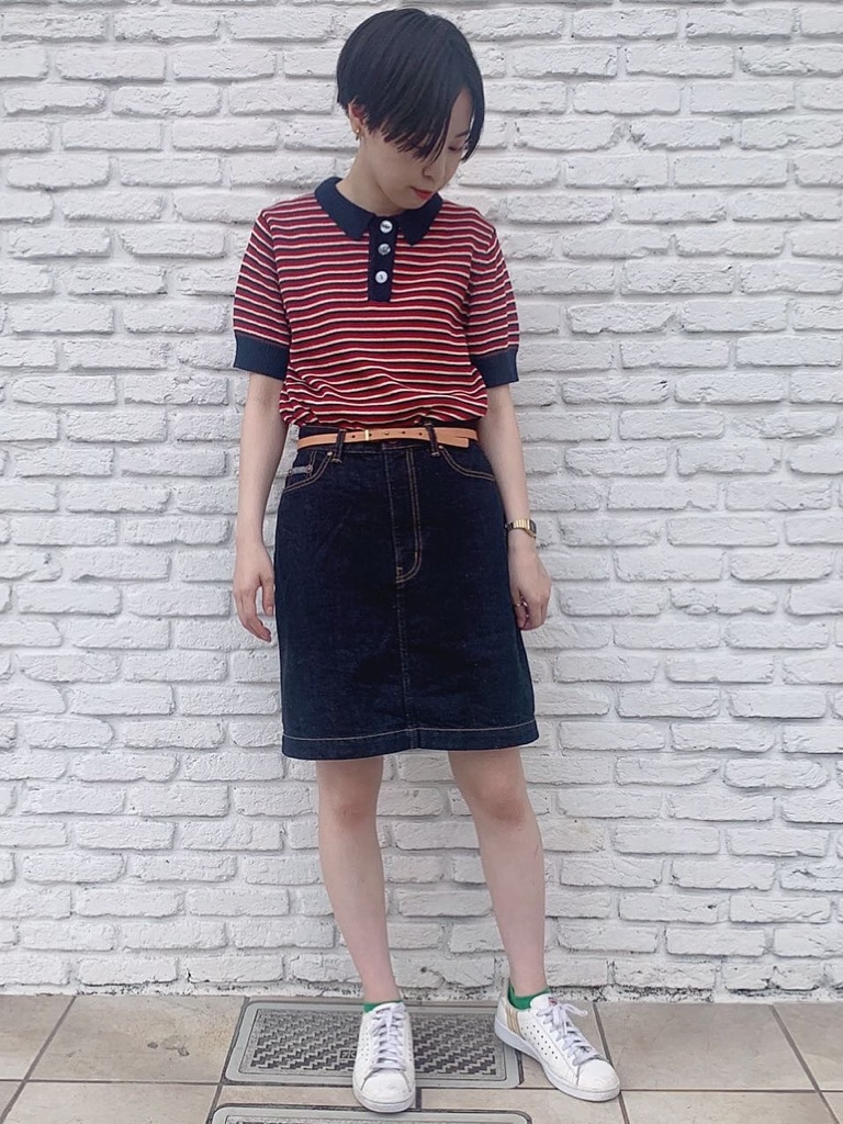 Dot and Stripes CHILD WOMAN 名古屋栄路面 身長:160cm 2020.07.14