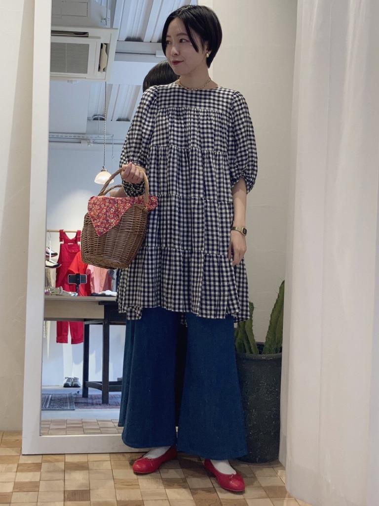 Dot and Stripes CHILD WOMAN 名古屋栄路面 身長:160cm 2021.04.19