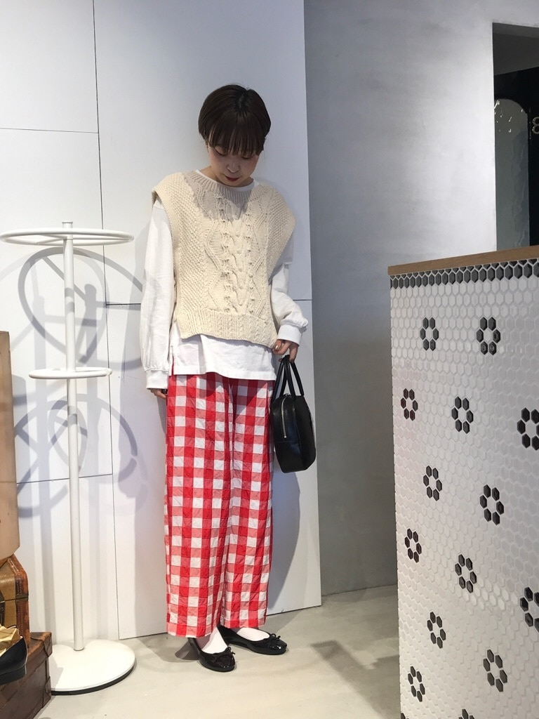 Dot and Stripes CHILD WOMAN 名古屋栄路面 身長:160cm 2020.01.28