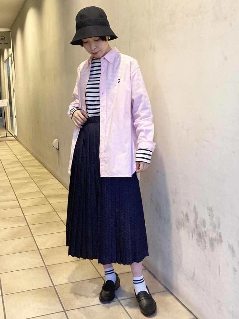 Dot and Stripes CHILD WOMAN 名古屋栄路面 身長:160cm 2021.01.22