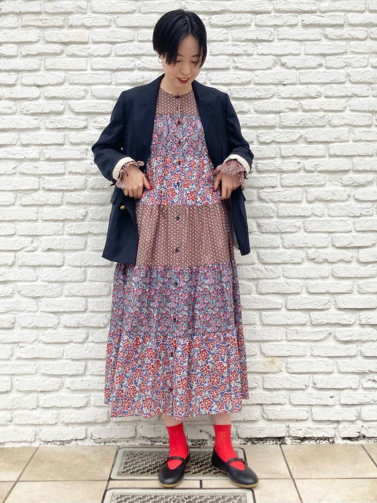 Dot and Stripes CHILD WOMAN 名古屋栄路面 身長:161cm 2021.09.12