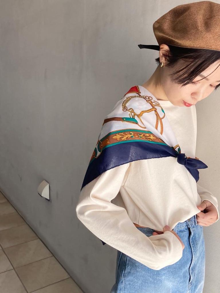 Dot and Stripes CHILD WOMAN 名古屋栄路面 身長:160cm 2021.02.06