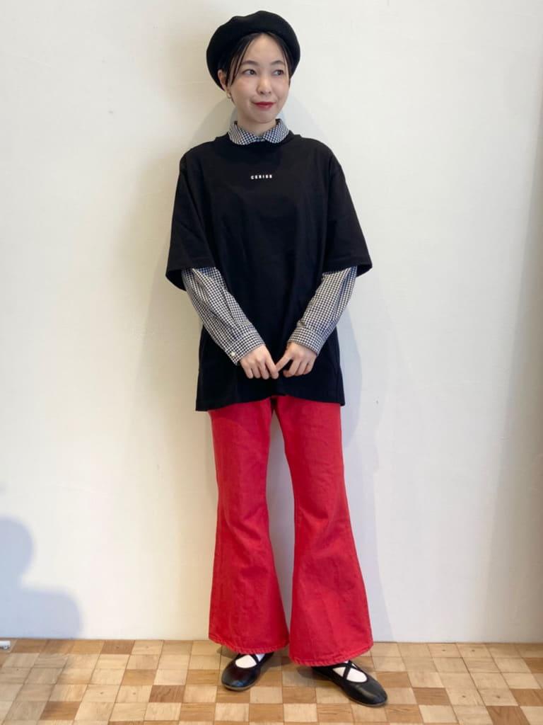 Dot and Stripes CHILD WOMAN 名古屋栄路面 身長:161cm 2021.09.25