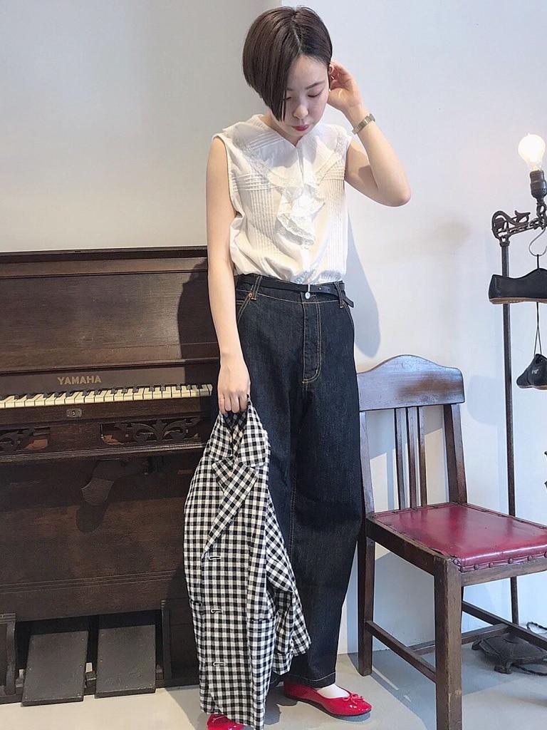 Dot and Stripes CHILD WOMAN 名古屋栄路面 身長:160cm 2020.06.18