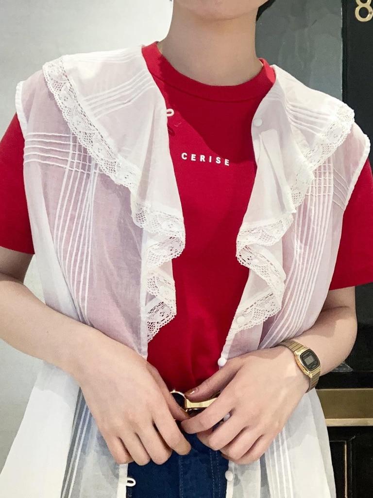 Dot and Stripes CHILD WOMAN 名古屋栄路面 身長:160cm 2021.05.13