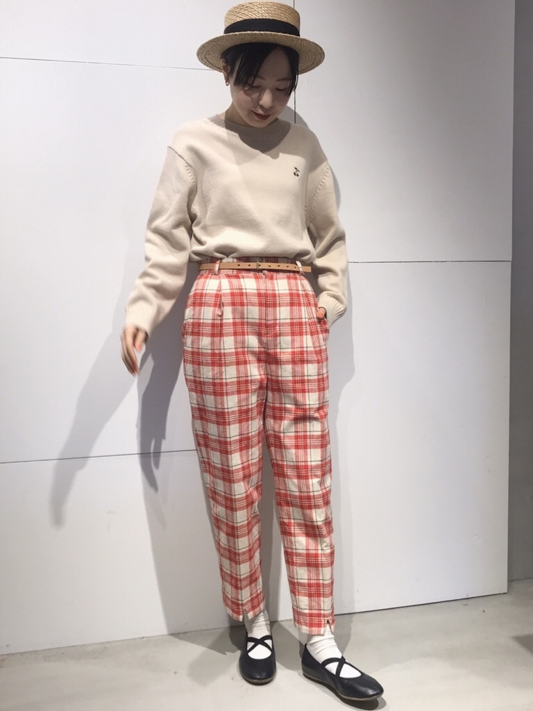 Dot and Stripes CHILD WOMAN 名古屋栄路面 身長:160cm 2020.03.25