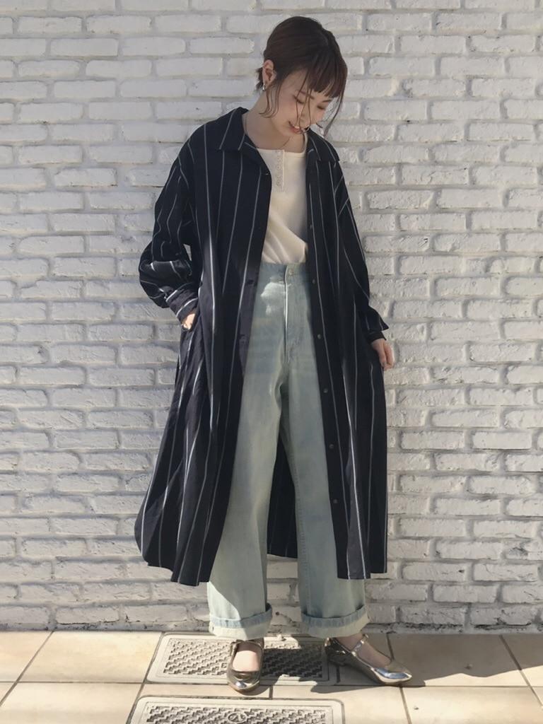 Dot and Stripes CHILD WOMAN 名古屋栄路面 身長:160cm 2019.08.17
